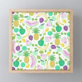 Fruit Punch Retro 2 Framed Mini Art Print