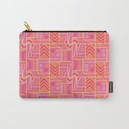 BP 74 Abstract Geo Carry-All Pouch
