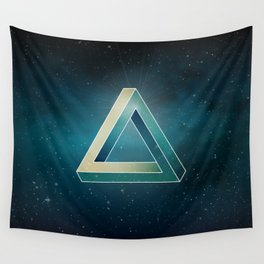Penrose Universe Wall Tapestry