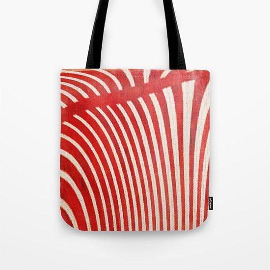 A Mess of Zebras Tote Bag