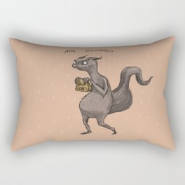 Cookie Squirrel Rectangular Pillow