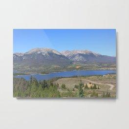 Dillon Reservoir Metal Print