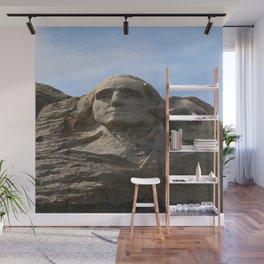 George Washington And Thomas Jefferson  - Mount Rushmore Wall Mural