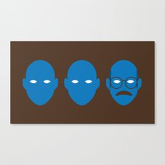 Blue Man Trio Canvas Print