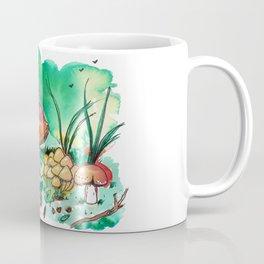 Toadstool Mushroom Fairy Land Coffee Mug