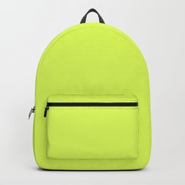 Florescent Yellow Backpack