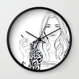 Kate M. X Supreme Wall Clock