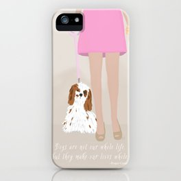 City Dogs: Elizabeth iPhone Case