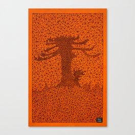 TR2 Araucaria Canvas Print