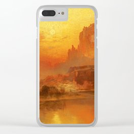 Thomas Moran - The Golden Hour, 1875 Clear iPhone Case