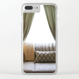 Vintage Styled Clear iPhone Case