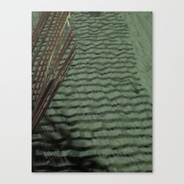 Sand Shadows Canvas Print