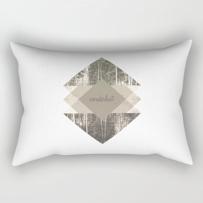 Wonderlust Rectangular Pillow