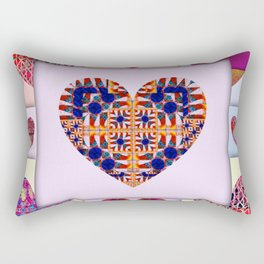 WE ARE BIRDS OF A FEATHER! Rectangular Pillow