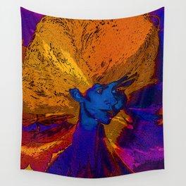 Volcano Goddess Wall Tapestry