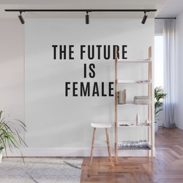 The Future is Female Wall Mural