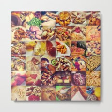 Food Porn Metal Print