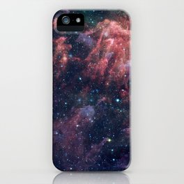 Nebula and Stars iPhone Case