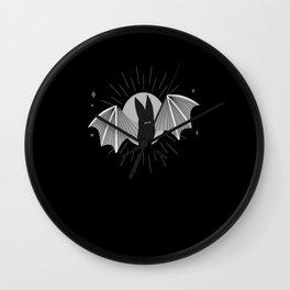 Halloween Bat Horror Scary bat Wall Clock