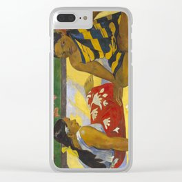Parau Api / What's news? by Paul Gauguin Clear iPhone Case