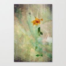 Triangle Design Farewell Canvas Print