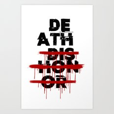 Death Before Dishonor Art Print