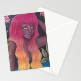 Femme Flame Stationery Cards