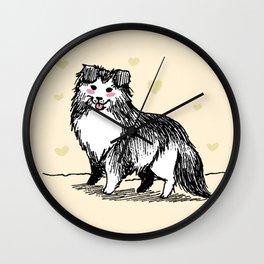 A Very Good Boy (Cream) Wall Clock