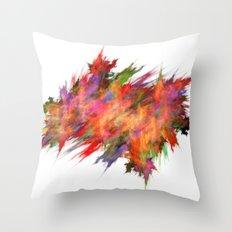 Colour explosion  (A7 B0212) Throw Pillow