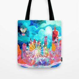 Chicago in the Summer Tote Bag