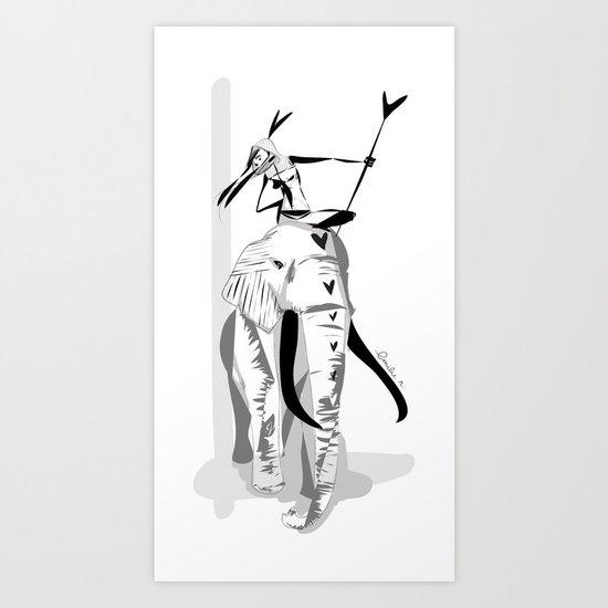 Lotta love - Emilie R. Art Print