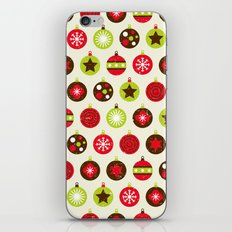 Christmas Baubles iPhone & iPod Skin