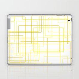 Yellow Line Pattern Laptop & iPad Skin