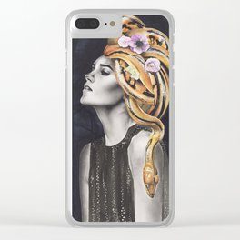 Eden Clear iPhone Case