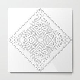 Geometric #1 Metal Print