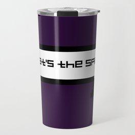 That's The Spirit - Purple Travel Mug