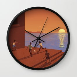Dreaming the World Cup Wall Clock