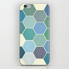 Shades of Blue iPhone & iPod Skin
