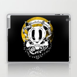 Dog skull Laptop & iPad Skin
