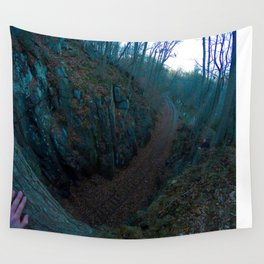 Tracks Wall Tapestry
