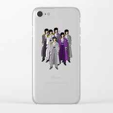 Prince Revolution Doodle Clear iPhone Case