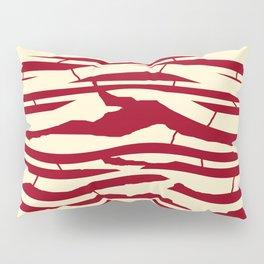 ZEBRA RED TTY N12 Pillow Sham