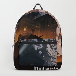 Attack on titan, Levi Ackerman, Aot Poster, Hoodie Backpack
