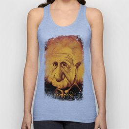 Albert Einstein- Creativity is Contagious Unisex Tank Top