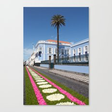 Palace in Azores Canvas Print
