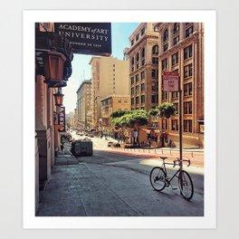 City Wanderlust Art Print