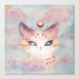 Stargazer Cat : Vision Seeker Canvas Print