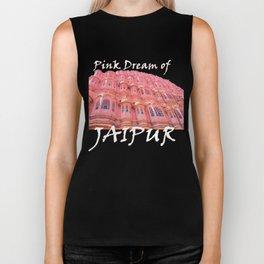 Pink Dream of JAIPUR Biker Tank