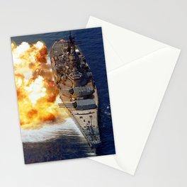 Battleship USS Iowa Broadside - 1984 Stationery Cards