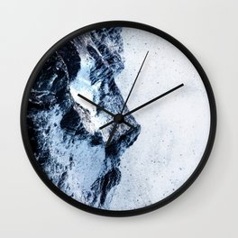 King of the mountains Wall Clock